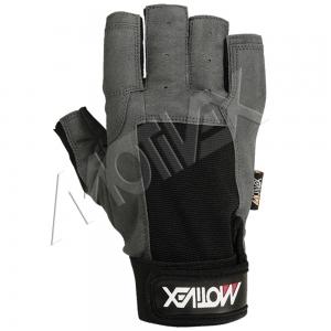 Short Finger Sailing Gloves Back