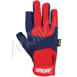 motivex long sailing gloves 8673-00 back
