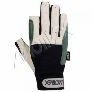 navy blue sailing gloves 8672-00 back