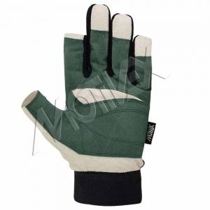 navy blue sailing gloves 8672-00 front