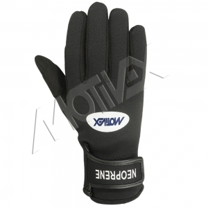 Neoprene Sailing Gloves 8639-21 Back