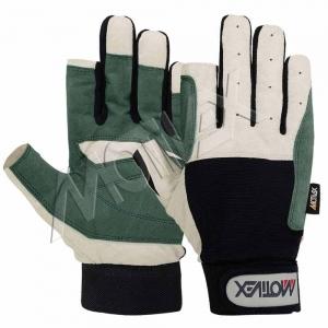 Motivex Sailing Gloves L/D Grey Long Finger-SGL-8672-00
